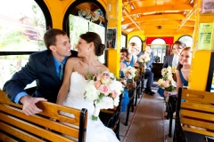 couple on trolley